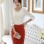 เสื้อทำงาน เสื้อแฟชั่น เสื้อเกาหลี เสื้อแขนยาว ประดับมุกที่คอ ด้านหน้าผ้าสองชิ้น ชิ้นนอกผ้าชีฟอง เสื้อผ้ายืด สีขาว สวยมากๆ (พร้อมส่ง) thumbnail 2