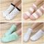 S349 **พร้อมส่ง** (ปลีก+ส่ง) ถุงเท้าแฟชั่นเกาหลี ข้อสั้น คละ 5 สี มี 12 คู่/แพ็ค เนื้อดี งานนำเข้า(Made in China) thumbnail 12