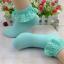 ถุงเท้าขอบระบายลูกไม้น่ารักมาก Size 34-38 thumbnail 5