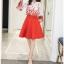 เสื้อผ้าแฟชั่นเกาหลี set 2 ชิ้น เสื้อและกระโปรงสวยมากๆ thumbnail 7