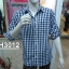 เสื้อเชิ้ตแขนยาวชาย ลายสก้อต ผ้า cotton100% thumbnail 4