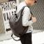 Pre-order กระเป๋าเป้สะพายหลัง ปรับสะพายข้างได้ เป้นักเรียนผู้ชายแฟชั่นเกาหลี รหัส Man-9816 สีดำ thumbnail 1