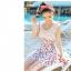 ชุดว่ายน้ำวันพีช พื้นสีขาว ลายลูกเชอร์รี่ สีแดง น่ารักมากๆ thumbnail 4