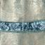 ชุดเดรสออกงาน ผ้าโปร่งสีเขียวมิ้นท์เย็บแบบพิเศษ ให้มีลวดลายหยักย่นตามแบบ แขนกุด thumbnail 13