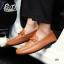 รองเท้าหนังผู้ชายแฟชั่น ดีไซน์สวยเท่ห์ โทนสีคลาสสิค thumbnail 2