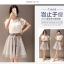 แฟชั่นเกาหลี set 2 ชิ้น เสื้อและกระโปรงสุดสวย thumbnail 3