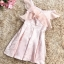 ชุดเดรสออกงาน ผ้าไหมเนื้อเงาสีชมพู ทอลายดอกกุหลาบ thumbnail 13