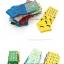S350 **พร้อมส่ง** (ปลีก+ส่ง) ถุงเท้าแฟชั่นเกาหลี ข้อสั้น คละ 4 ลาย 4 สี มี 12 คู่/แพ็ค เนื้อดี งานนำเข้า(Made in China) thumbnail 3