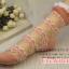 ถุงเท้าซีทรู ขอบระบาย สีชมพู thumbnail 4