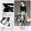 ชุดเดรสแฟชั่น ตัวเสื้อผ้าลูกไม้ชนิดยืดหยุ่นได้ดี สีดำ แขนยาวสี่ส่วน thumbnail 8