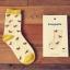 S323**พร้อมส่ง**(ปลีก+ส่ง) ถุงเท้าข้อยาว แฟชั่นเกาหลี มี 12 คู่ต่อแพ็ค พร้อมกล่อง เนื้อดี งานนำเข้า(Made in China) thumbnail 6