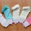 S162**พร้อมส่ง** (ปลีก+ส่ง) ถุงเท้าแฟชั่นเกาหลี ข้อสั้น ขอบลูกไม้ เนื้อดี งานนำเข้า(Made in china) thumbnail 1