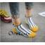 S367**พร้อมส่ง** (ปลีก+ส่ง) ถุงเท้าแฟชั่นเกาหลี ข้อสั้น แต่งขอบ ประดับลูกตุ้ม เนื้อดี งานนำเข้า(Made in china) thumbnail 12