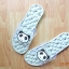 K020-GY **พร้อมส่ง** (ปลีก+ส่ง) รองเท้านวดสปา เพื่อสุขภาพ ปุ่มใหญ่สลับเล็ก (การ์ตูน) สีเทา ส่งคู่ละ 150 บ. thumbnail 5