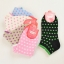 S275**พร้อมส่ง** (ปลีก+ส่ง) ถุงเท้าแฟชั่นเกาหลี ข้อสั้น ลายจุด เนื้อดี งานนำเข้า(Made in China) thumbnail 8