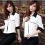 เสื้อทำงาน เสื้อแฟชั่น เสื้อเกาหลี เสื้อแขนยาว คอปก กระดุมหน้า กระเป๋าหน้า เสื้อสีขาว สวยมากๆ (พร้อมส่ง) thumbnail 4