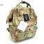 กระเป๋าเป้ผ้าแคนวาสเนื้อหนา สไตล์ Anello (สีลายทหารอ่อน) thumbnail 1