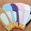S260**พร้อมส่ง** (ปลีก+ส่ง) ถุงเท้าคัทชู สีล้วน ไม่มีลาย ขอบลูกไม้ คละ 6 สี เนื้อดี งานนำเข้า(Made in China) thumbnail 1