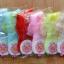 U030**พร้อมส่ง** (ปลีก+ส่ง) ถุงเท้าเด็กหญิง วัย 3-5 ขวบ ขอบลูกไม้ แต่งโบว์น่ารัก เนื้อดี งานนำเข้า ( Made in China) thumbnail 2
