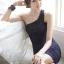 DRESS ชุดเดรสแฟชั่นเกาหลี เข้ารูป เปิดไหล่ ตกแต่งช่วงอก สีน้ำเงินอมม่วง เซ็กซี่ สามารถใส่ออกงานได้ สวยมากๆ ครับ (พร้อมส่ง) thumbnail 2