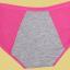 กางเกงในเอวต่ำเสริมความกระชับเหมาะกับวันมีประจำเดือน เซต 4 ตัว ( เทา , ชมพู , ดำ , เนื้อ ) thumbnail 10