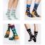 S482**พร้อมส่ง** (ปลีก+ส่ง) ถุงเท้าแฟชั่นเกาหลี ข้อยาว ลายจุด เนื้อดี งานนำเข้า(Made in china) thumbnail 1