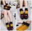 [พิเศษ 2 คู่ 100 ] ถุงเท้าพับข้อแต่งระบายน่ารักมีสีใหเลือก 5 สี thumbnail 2