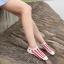 S566 **พร้อมส่ง** (ปลีก+ส่ง) ถุงเท้าแฟชั่น ข้อตาตุ่ม คละ5 สี มี 10 คู่ต่อแพ็ค เนื้อดี งานนำเข้า thumbnail 3