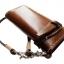 กระเป๋าสตางค์ยาวของสุภาพบุรุษ สีน้ำตาล หนังหนา แท้ เกรด A+ thumbnail 1