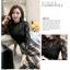เสื้อสีดำ เสื้อผ้าลูกไม้สีดำแขนยาว ช่วงคอเสื้อไหล่เป็นผ้ามุ้งซีทรู thumbnail 6