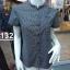 H1132 เสื้อคอจีนผู้หญิง cotton100% thumbnail 3