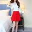 แฟชั่นเกาหลี set เสื้อ และกระโปรง สวยมากครับ thumbnail 4