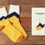 S308 **พร้อมส่ง**(ปลีก+ส่ง) ถุงเท้าข้อยาว แฟชั่นเกาหลี มี 12 คู่ต่อแพ็ค พร้อมกล่อง เนื้อดี งานนำเข้า(Made in China) thumbnail 6