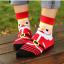 ถุงเท้าน่ารักลายลุงแซนต้า-ขอบเขียว thumbnail 6