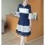 เสื้อผ้าแฟชั่นเกาหลี set เสื้อและกระโปรงน่ารักมากๆ thumbnail 3