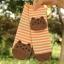 S276**พร้อมส่ง** (ปลีก+ส่ง) ถุงเท้าแฟชั่นเกาหลี ข้อยาว ลายแมว เนื้อดี งานนำเข้า(Made in China) thumbnail 18