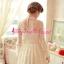 ชุดเดรส Brand Aimilan Princess style ชุดเดรสลูกไม้ แขนยาว คอปักมุกสีขาว พร้อมเข็มกลัดรูปผู้หญิงติดที่คอเสื้อ สวยมากๆครับ (พร้อมส่ง) thumbnail 8