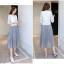 เสื้อผ้าแฟชั่นเกาหลี set เสื้อ และกระโปรงน่ารักมากๆ ครับ thumbnail 4