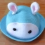 Y001-2**พร้อมส่ง** (ปลีก+ส่ง) หมวก สาน เด็ก ลายกระต่าย แฟชั่นเกาหหลี งานนำเข้า(Made in China) thumbnail 3