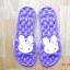 K020-PU **พร้อมส่ง** (ปลีก+ส่ง) รองเท้านวดสปา เพื่อสุขภาพ ปุ่มใหญ่สลับเล็ก (การ์ตูน) สีม่วง ส่งคู่ละ 150 บ. thumbnail 3