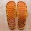 K011-BR1 **พร้อมส่ง** (ปลีก+ส่ง) รองเท้านวดสปา เพื่อสุขภาพ ปุ่มเล็ก คุมะ RIlakkuma สีน้ำตาล ส่งคู่ละ 150 บ. thumbnail 4