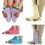 S595**พร้อมส่ง** (ปลีก+ส่ง) ถุงเท้าโยคะ มีกันลื่น มี 12 คู่ต่อแพ็ค คละ 6 สี เนื้อดี งานนำเข้า(Made in China) thumbnail 1