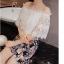 เสื้อผ้าคอตตอน ทอผสมกับ spandex สีขาว เนื้อดี thumbnail 8