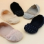 S425 **พร้อมส่ง** (ปลีก+ส่ง) ถุงเท้าคัทชู สีล้วนและลายจุด เนื้อค๊อตต้อน แต่งลูกไม้ คละสี มี 12 คู่ต่อแพ็ค เนื้อดี งานนำเข้า(Made in China) thumbnail 15