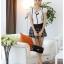 เสื้อผ้าแฟชั่น set 2 ชิ้น เสื้อ+กางเกง และเข็มกลัดดอกไม้ แฟชั่นเกาหลีสวยๆ ครับ thumbnail 3