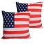 หมอนอิง ลายธงชาติอเมริกัน สวยๆ งามๆ ขนาด 18 x 18 นิ้ว ขายที่ละเป็นคู่ thumbnail 1