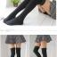 ถุงเท้ายาวเหนือเข่ารุ่นหนากันหนาว (สีดำ) thumbnail 3