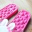 K020-DPK **พร้อมส่ง** (ปลีก+ส่ง) รองเท้านวดสปา เพื่อสุขภาพ ปุ่มใหญ่สลับเล็ก (การ์ตูน) สีชมพูเข้ม ส่งคู่ละ 150 บ. thumbnail 7
