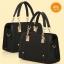 Pre-order กระเป๋าถือและสะพายข้าง หรูหรา เรียบง่าย แฟชั่นเกาหลี รหัส KO-6866 สีดำ thumbnail 1