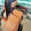 ซองหนังใส่กระเป๋าหนังแท้ + กระเป๋า หนังแท้ สีน้ำตาล thumbnail 1